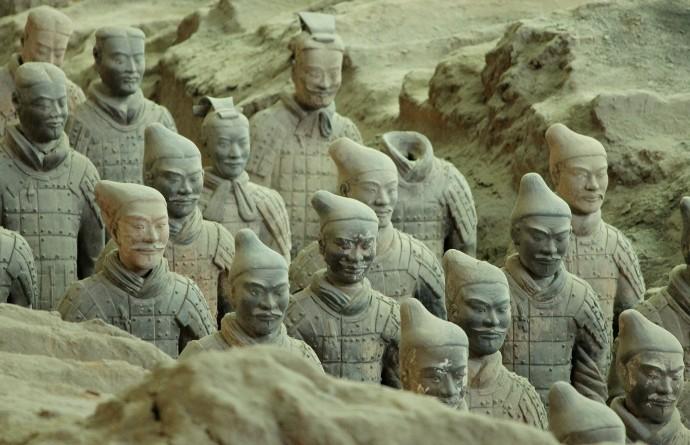 viaje-a-china guerreros en terracota