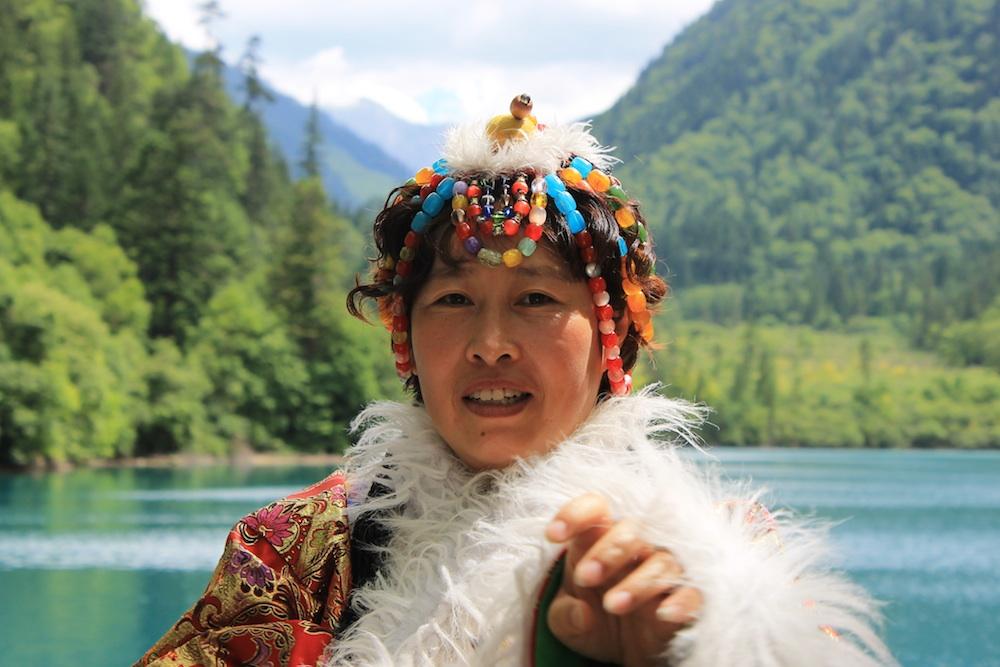 Traje típico del noreste de China