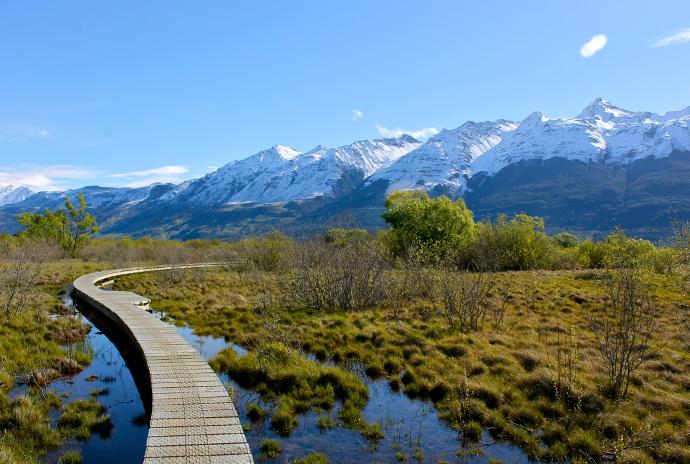 Glenorchy, isla sur Nueva Zelanda