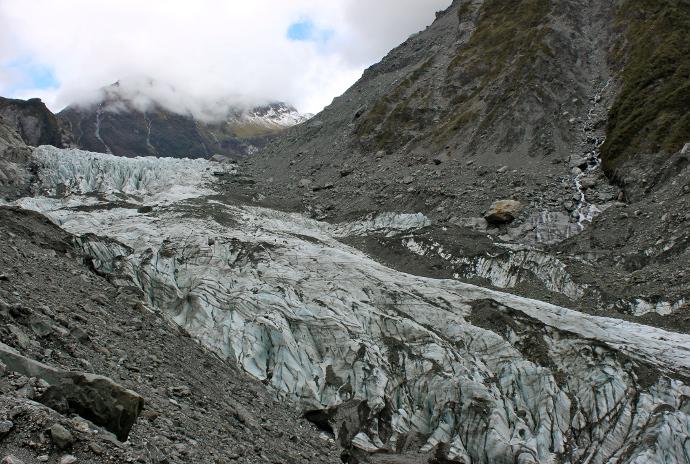 Fox Glaciar nueva zelanda