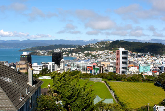 Wellington, capital nueva zelanda