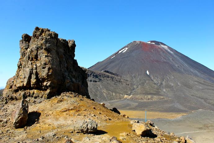 Parque Tongariro, Monte Destino, Señor de los anillos
