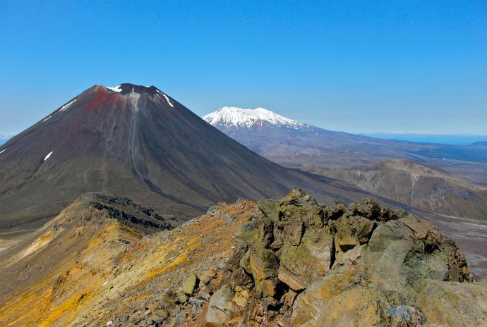destinos desconocidos Parque Tongariro Nueva Zelanda