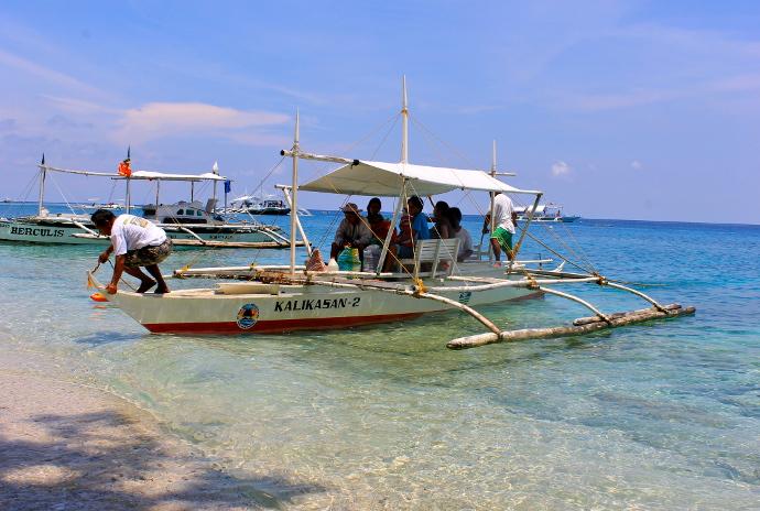 destinos desconocidos Isla Apo Filipinas
