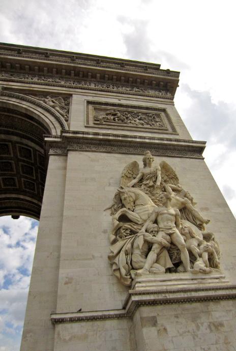 Arco del triunfo detalle