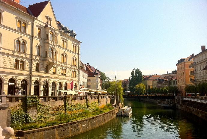 destinos desconocidos Ljubljana Eslovenia