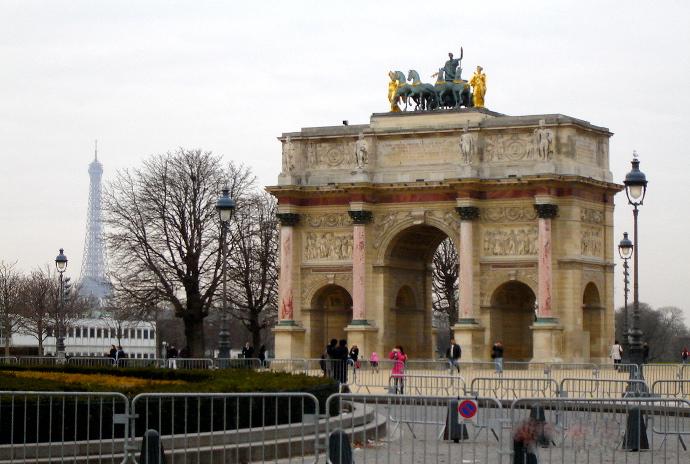 Arco del triunfo Museo de Louvre Paris