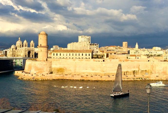 destinos desconocidos Puerto de Marsella