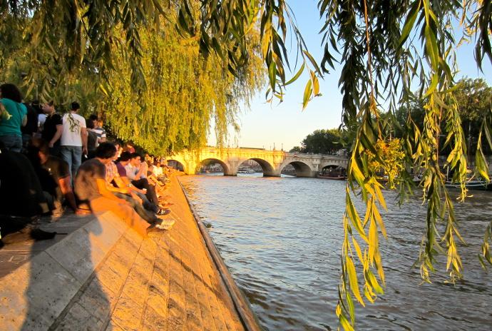 Rio Sena Picnic en Paris