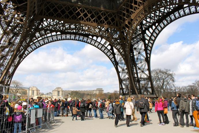 Torre Eiffel Paris entrada