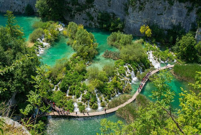 destinos desconocidos Lagos Plitvice Croacia