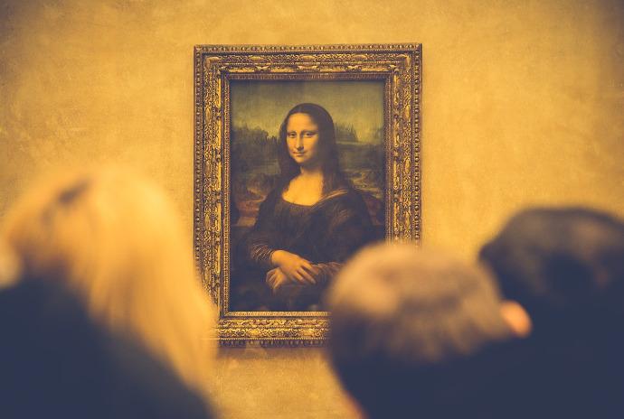 La Monalisa, Museo del Louvre Paris