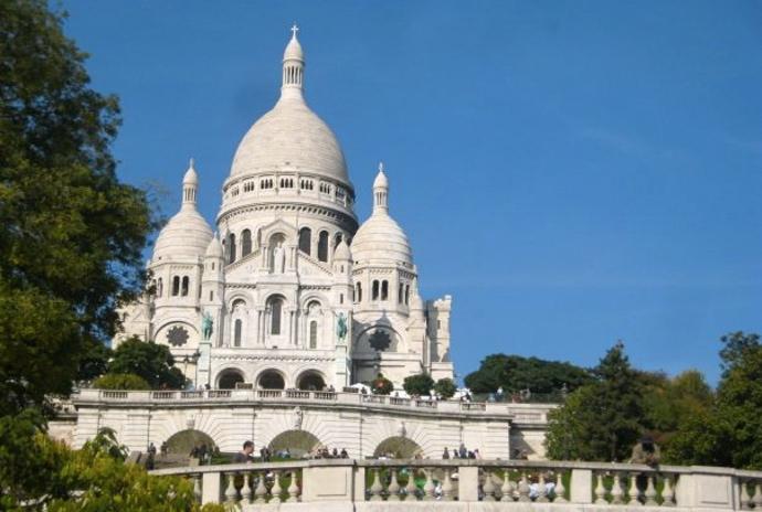 Basilica del Sacre Coeur Paris